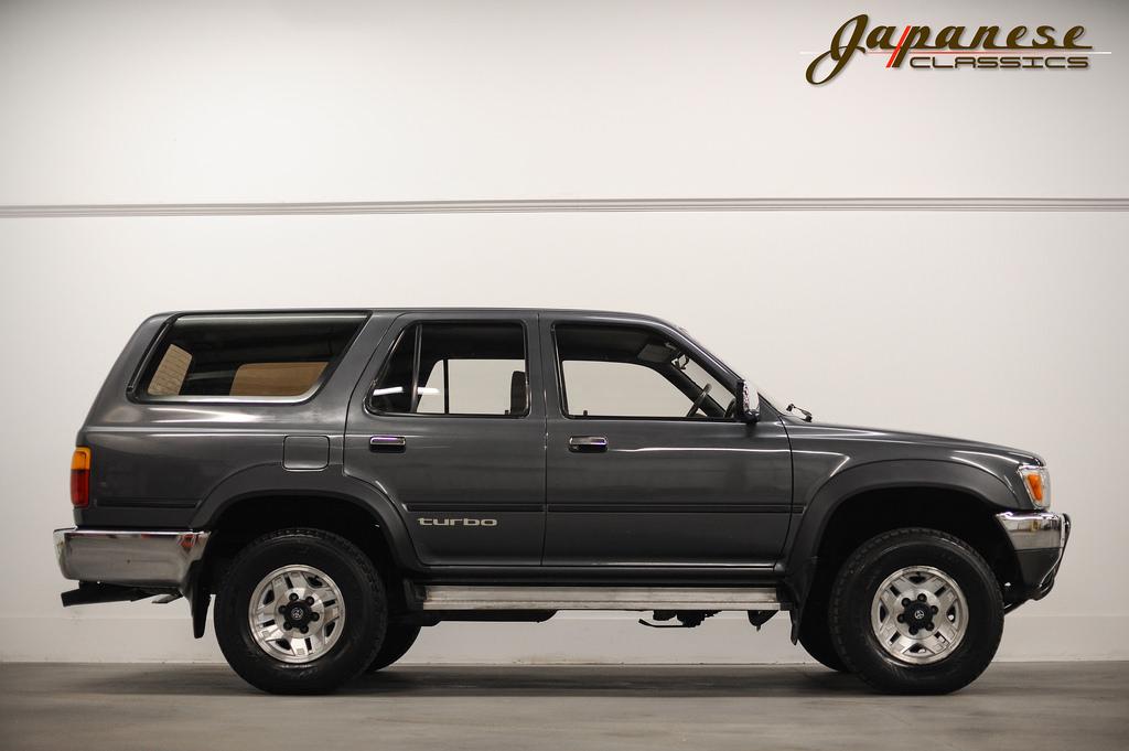 Japanese Classics 1990 Toyota Hilux Surf Ssr