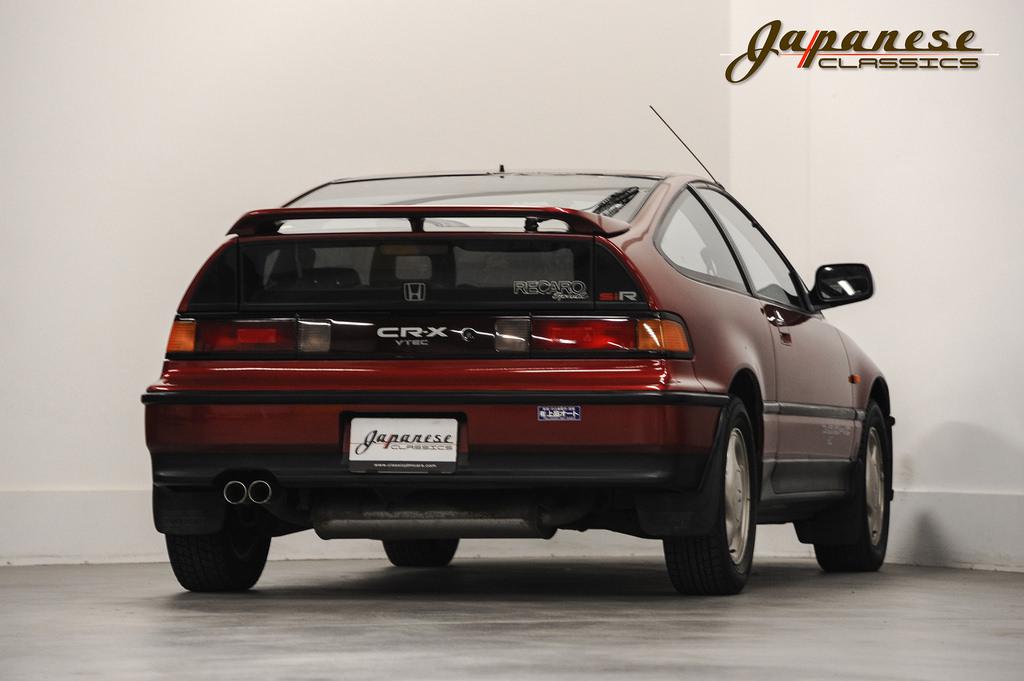... 1990 Honda CR X SiR ...