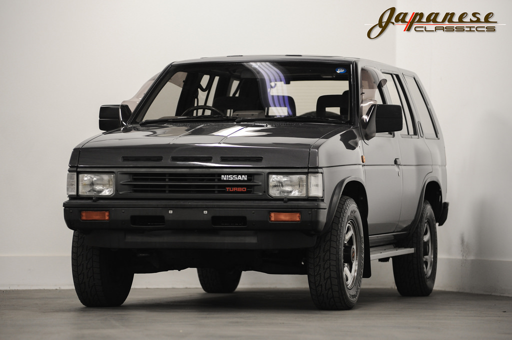 japanese classics 1990 nissan terrano. Black Bedroom Furniture Sets. Home Design Ideas