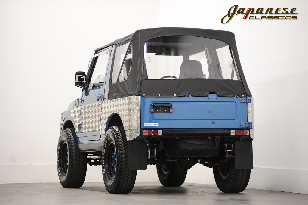 Japanese Classics 1989 Suzuki Jimny Turbo