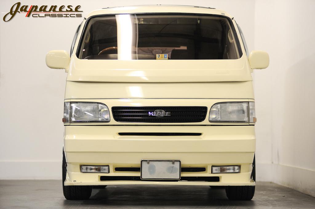 Toyota Hiace Truck >> Japanese Classics   1990 Toyota Hiace