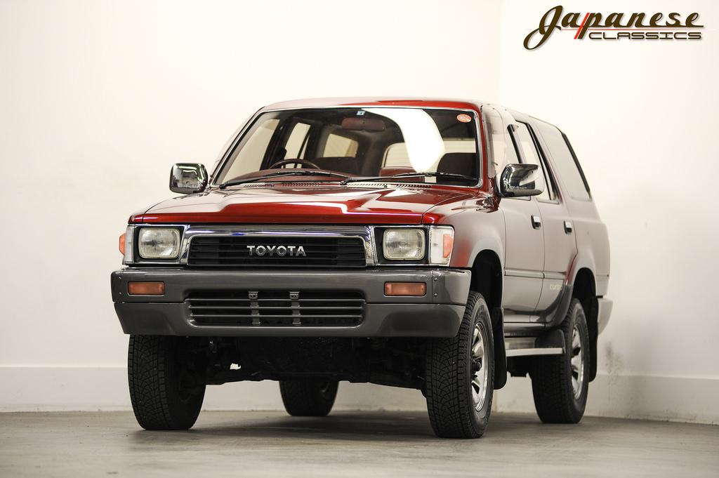 Japanese Classics 1990 Toyota Hilux