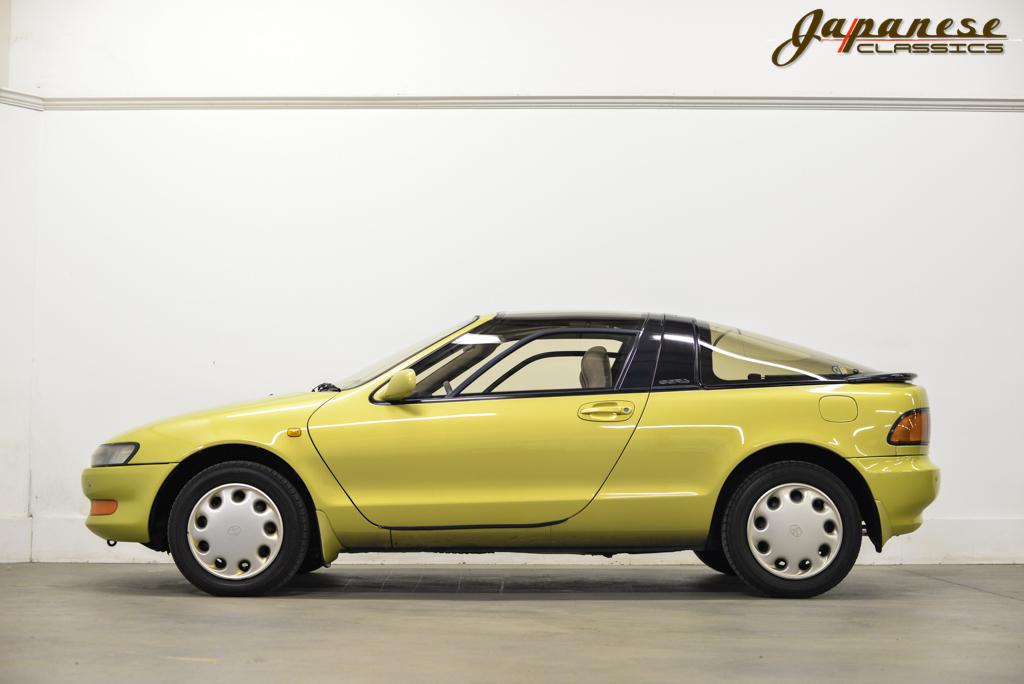 Toyota Sera Bright Yellow on Toyota Tercel Parts