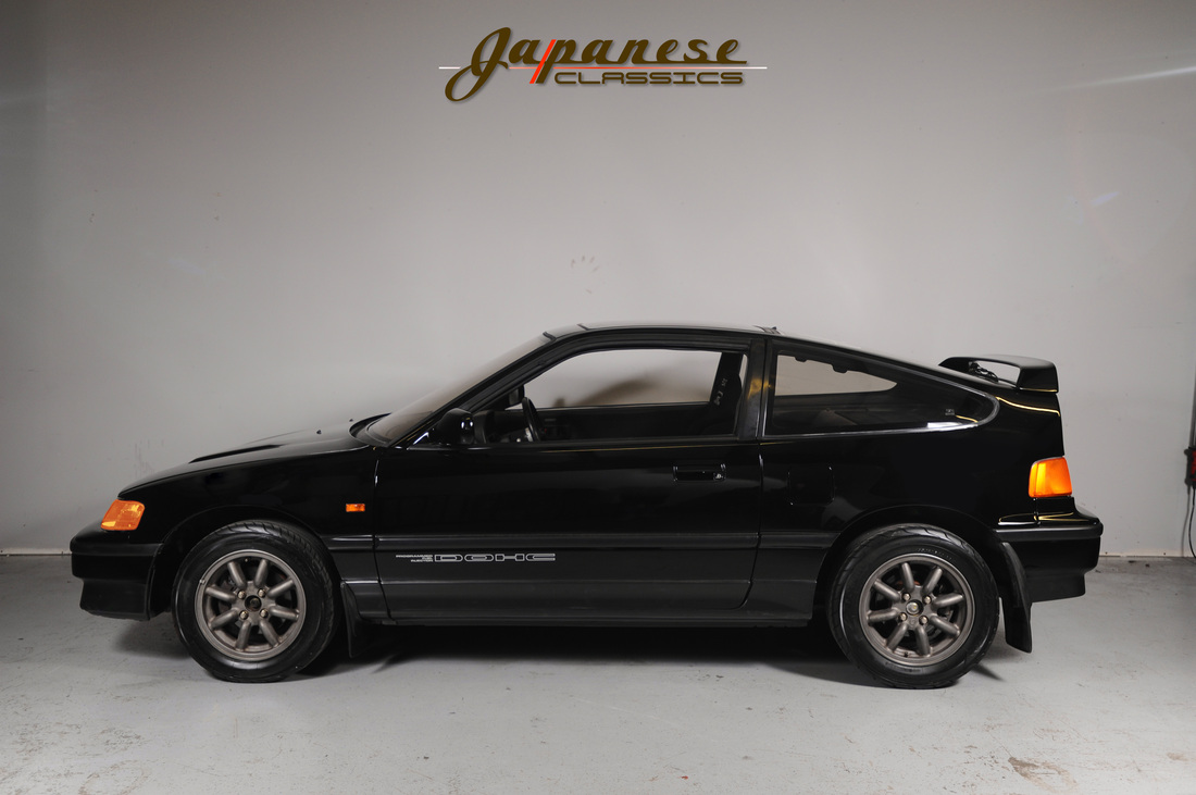 Japanese Classics 1987 Ef7 Honda Crx Si