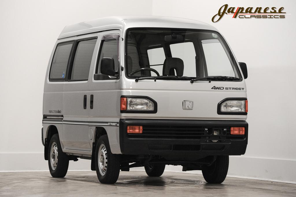 Nissan Cargo Van >> Japanese Classics | 1988 Honda Street Kei Van