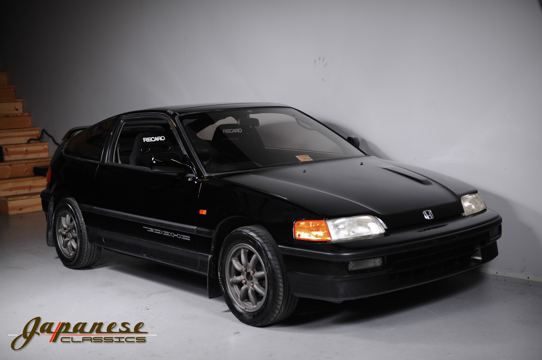 japanese classics 1987 ef7 honda crx si. Black Bedroom Furniture Sets. Home Design Ideas