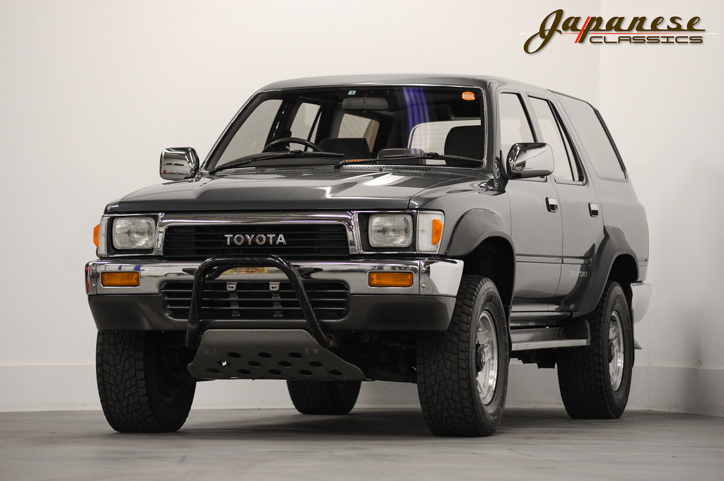 japanese classics 1990 toyota hilux surf ssr. Black Bedroom Furniture Sets. Home Design Ideas