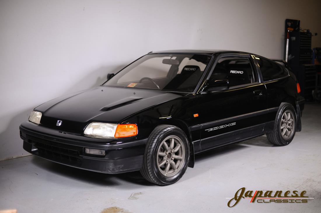 Japanese Classics | 1987 EF7 Honda CRX SI