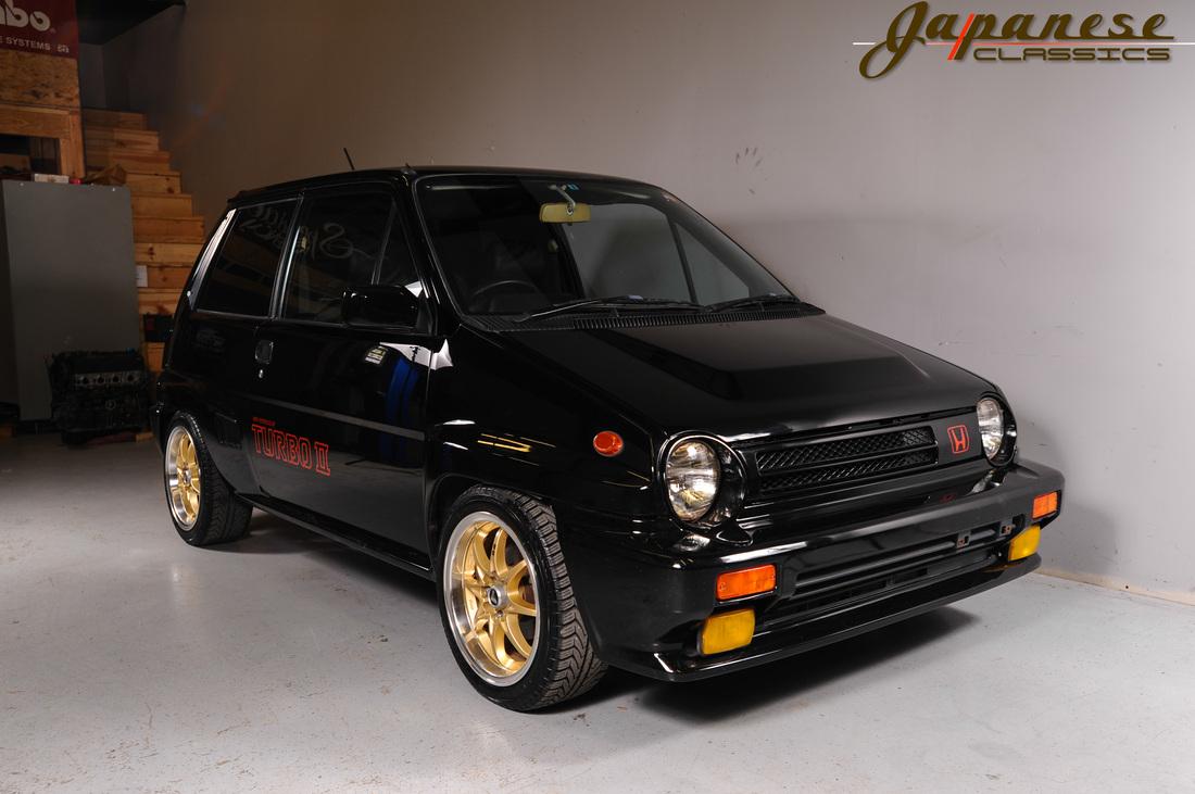 Japanese Classics 1985 Honda City Turbo Ii