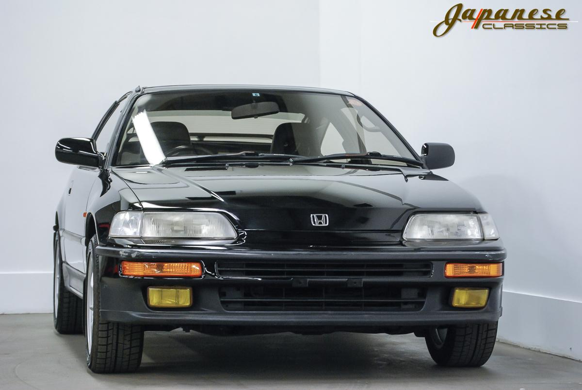 japanese classics 1990 honda crx sir glass roof rh japaneseclassics com