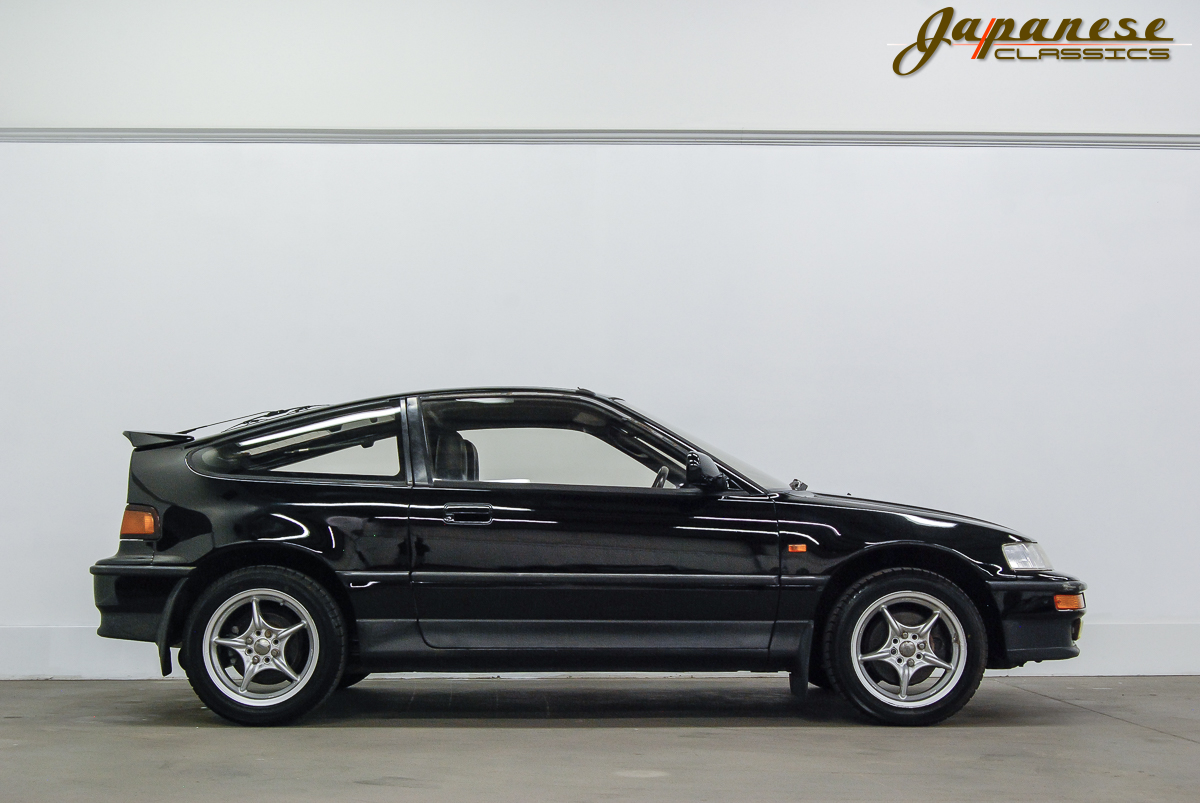 japanese classics 1990 honda crx sir glass roof. Black Bedroom Furniture Sets. Home Design Ideas