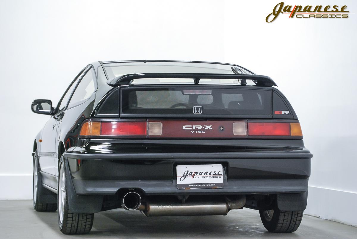 Japanese classics 1990 honda crx sir glass roof