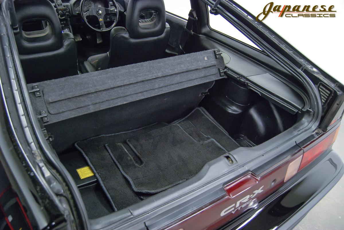 ... 1990 Honda CRX SiR Glass Roof ... & Japanese Classics | 1990 Honda CRX SiR Glass Roof Pezcame.Com