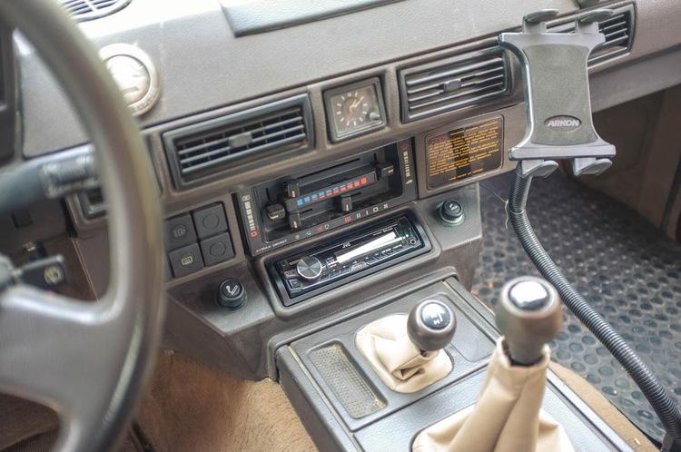 japanese classics 1989 land rover range rover 2 door