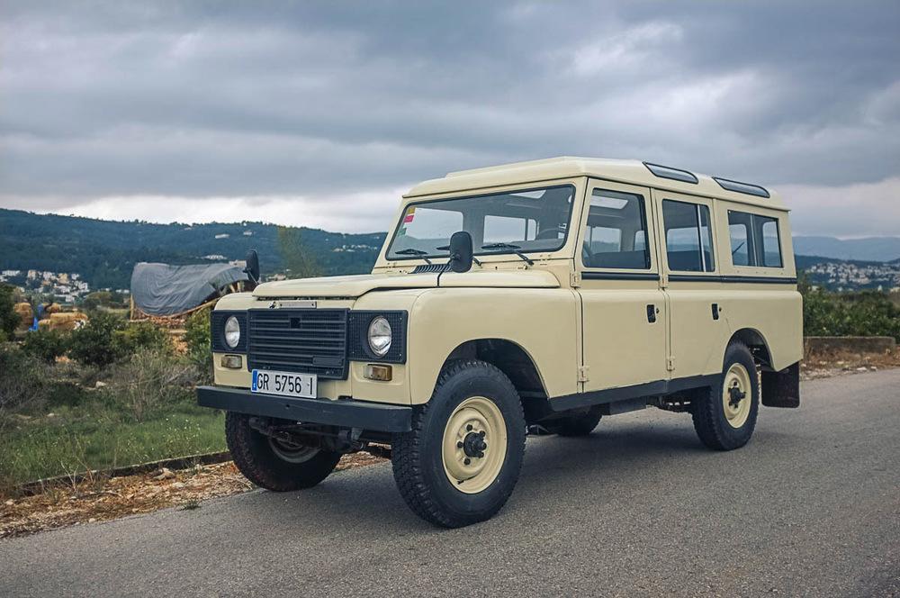 Japanese Classics | 1983 Land Rover Santana Series IIIA ...