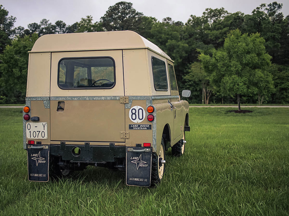 Bill Of Sale Example >> Japanese Classics | 1982 Land Rover Santana Series III 88