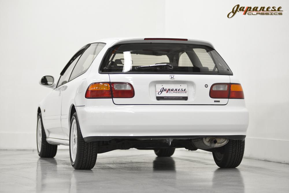 Honda Factory Performance Wheels >> Japanese Classics | 1991 Honda Civic EG6 SiR