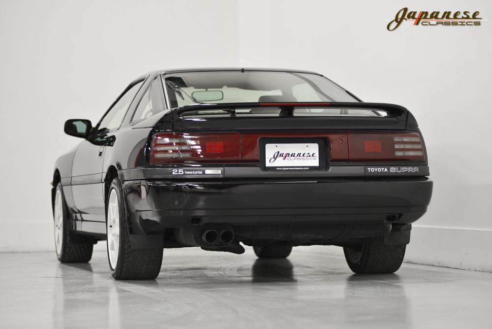 Japanese Classics 1990 Toyota Supra Tt Limited