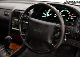 1993 Diamond White Pearl Toyota Celsior