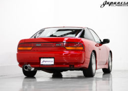 1993 Aztec Red Nissan 180SX
